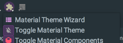 Material Wizard Action